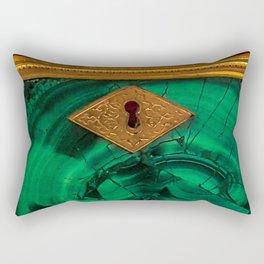 Malachite Box 4 Rectangular Pillow