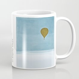 Jules Verne's Around the World in Eighty Days - Minimalist literary design, literary gift Coffee Mug