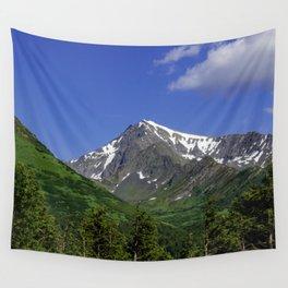 Scenic Seward Highway - Summer Wall Tapestry