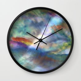 Water and Light Wall Clock