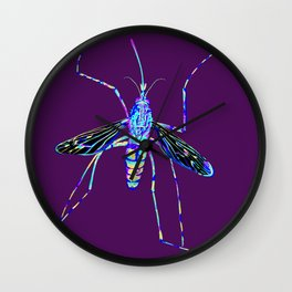 Mosquito 2 Wall Clock