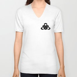 Triangle From Circles Unisex V-Neck