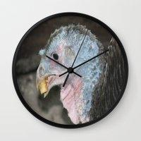 turkey Wall Clocks featuring Turkey by Twilight Wolf
