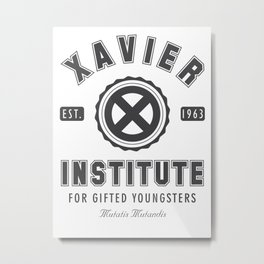 Xavier Institute Metal Print