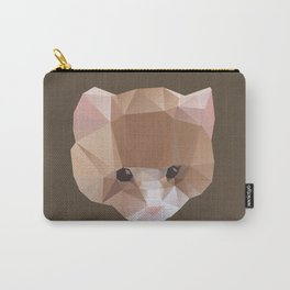 GEOMETRIC CAT Carry-All Pouch