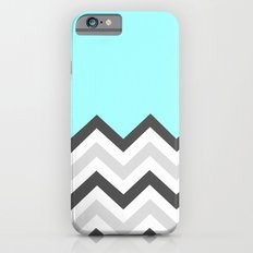 Color Blocked Chevron 16 Slim Case iPhone 6