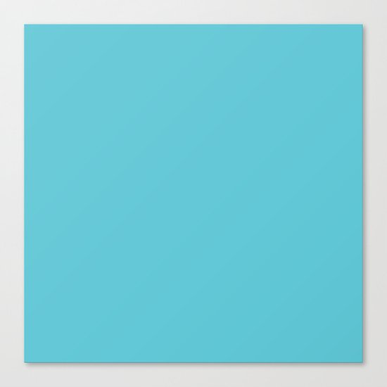 Simply Seaside Blue Canvas Print