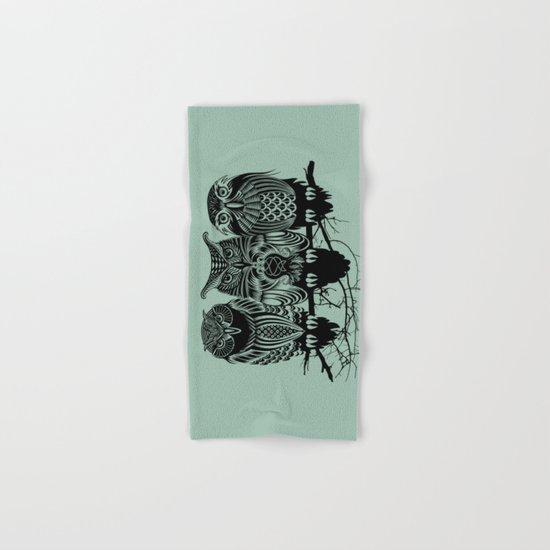 Owls of the Nile Hand & Bath Towel