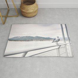 CN Tower in Toronto Canada Rug