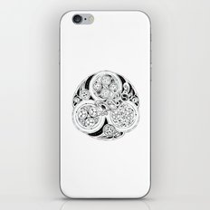 BBC Merlin: In Spite of Everything, the Stars (Dragon Triskelion tattoo) iPhone & iPod Skin