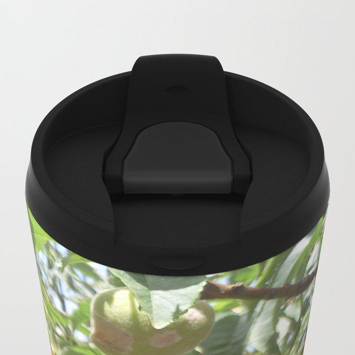 Loving Flowers Metal Travel Mug