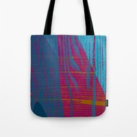 reassurance Tote Bags featuring Feel the texture III by Magdalena Hristova
