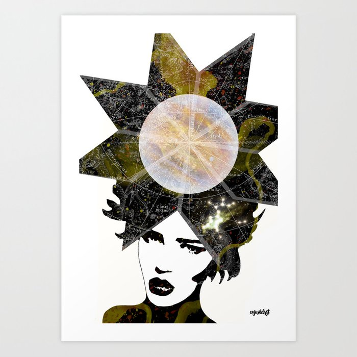 Sagittarius (zodiac series 2) Art Print