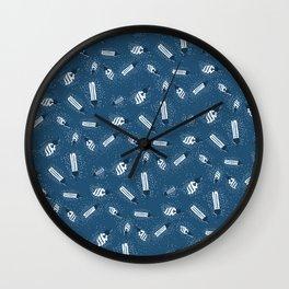Lights Pattern Wall Clock