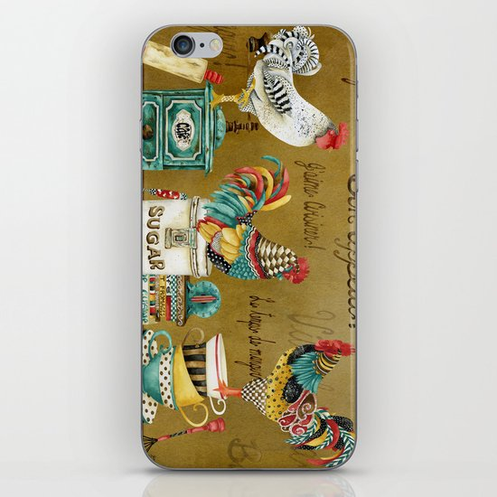 Roosters Majestic iPhone & iPod Skin