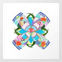blossom Art Prints featuring Blossom by Heaven7