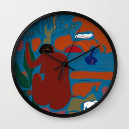The Universe Weaver, v. 01 Wall Clock
