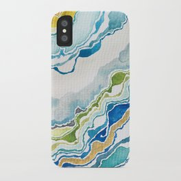 Ocean Blues I iPhone Case