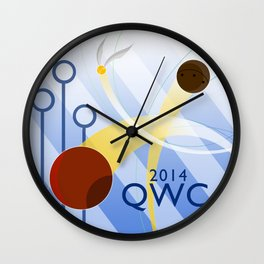 Quidditch World Cup 2014 Wall Clock