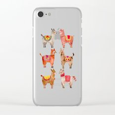 Alpacas Clear iPhone Case