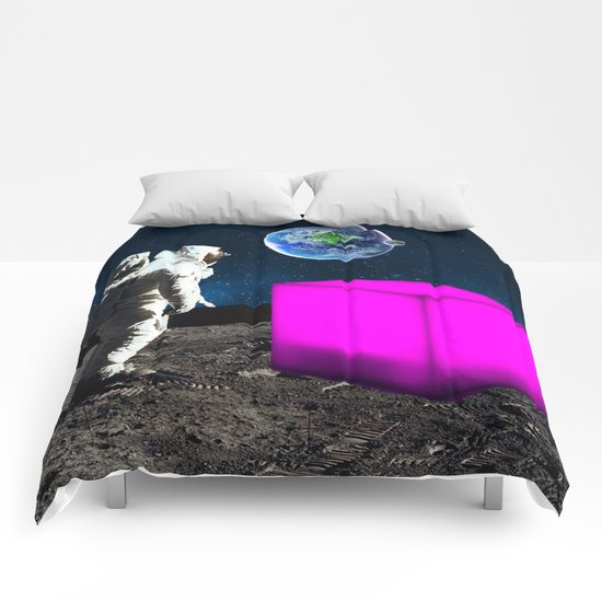 Cube from Space Comforters
