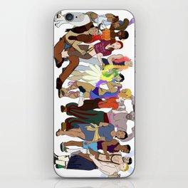 Pride Parade iPhone Skin