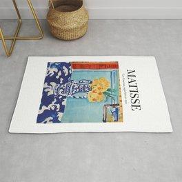 Matisse - Les Coucous, tapis bleu et rose Rug