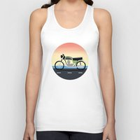 moto Tank Tops featuring Moto Cruise by Fred Jonathan