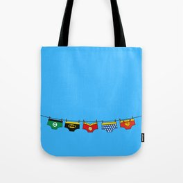 Superheroes real life Tote Bag