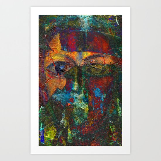 Face#4 Art Print