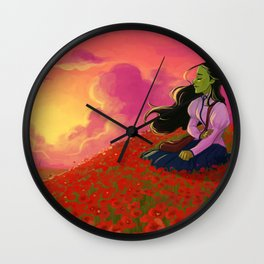 I'm not that girl Wall Clock