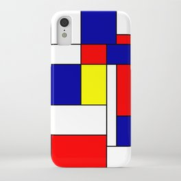 Mondrian #38 iPhone Case