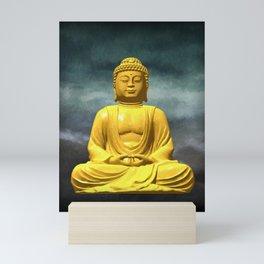 Serene Buddha Mini Art Print