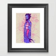 You are inside me Framed Art Print