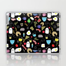 Breakfast pattern Laptop & iPad Skin