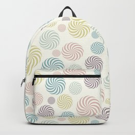 Swirl pastel pattern Backpack