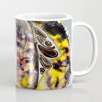 bleach Mugs featuring Leaf Alive by CrismanArt