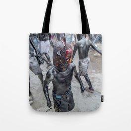 Luchadorcito Tote Bag