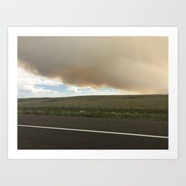 I-25 Storm Art Print