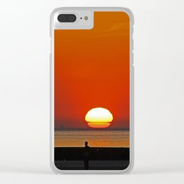 Another place Sunset Clear iPhone Case