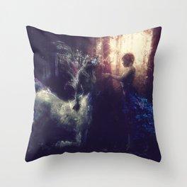 Centaur Girlfriend Throw Pillow