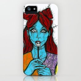 SALLY - THE NIGHTMARE BEFORE CHRISTMAS iPhone Case