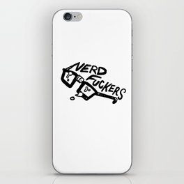 Vivacious Nerd Appreciation iPhone Skin