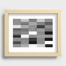 Order Emerging from Chaos or The Joy of Random Boolean Networks 1. Recessed Framed Print