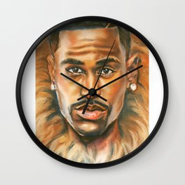 Can't Wait to be King Wall Clock