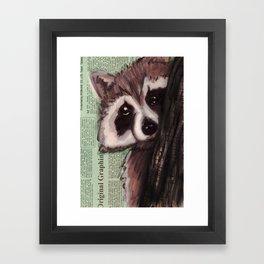 Knock, knock, RAKIN' Framed Art Print