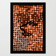 Retropattern Art Print