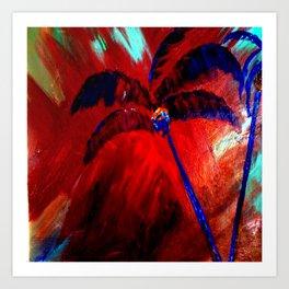 Royal Palms Art Print