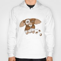 gizmo Hoodies featuring Gizmo by Melissa Sanchez Art