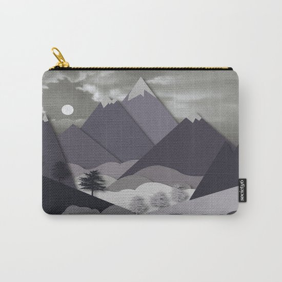 Night Mountains No. 24 Carry-All Pouch